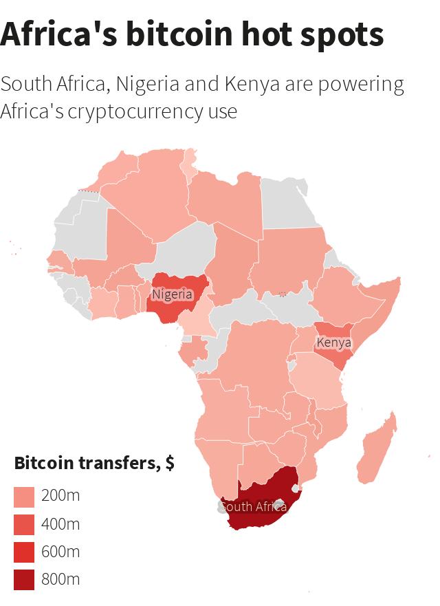 africas bitcoin hotspots